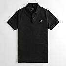Hollister HCO 短袖 polo 黑色 1216