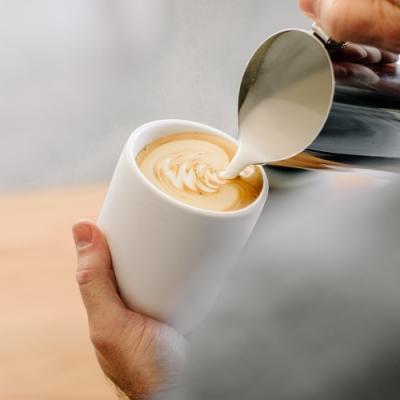 FELLOW MONTY 雙層陶瓷咖啡杯– 11oz(卡布杯/拉花杯/濃縮咖啡杯/拿鐵杯/咖啡杯/陶瓷杯/手沖咖啡)