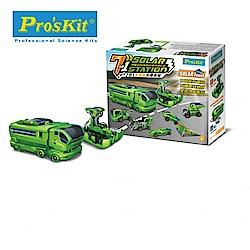 台灣製造Proskit科學玩具 7合1太陽充電車組GE-640