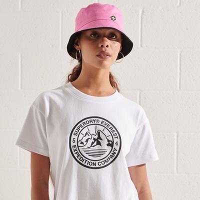 SUPERDRY 女裝 短袖T恤 EXPEDITION BOXY 白