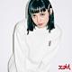 X-girl BUNNY EMBROIDERY CREW SWEAT TOP大學T-白 product thumbnail 1