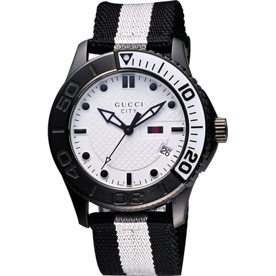 GUCCI SPORT 時尚運動腕錶(YA126243)