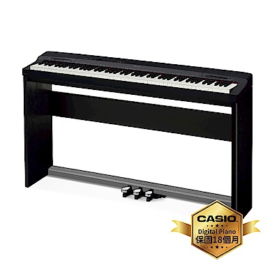 [無卡分期-12期]CASIO卡西歐原廠Privia基本款數位鋼琴PX-160