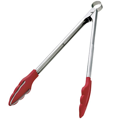 《CUISIPRO》Teeth 大鋼牙好收納餐夾(紅34.2cm)