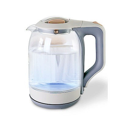 EDISON 愛迪生 藍光玻璃快煮壺 1.8L