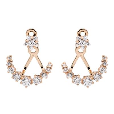 SWAROVSKI 施華洛世奇 Penélope Cruz璀璨水晶點點星光玫瑰金耳環