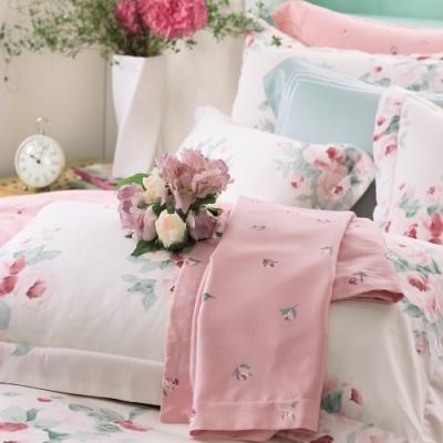 OLIVIA  Kathleen 粉 特大雙人床包兩用被套四件組 棉天絲系列 台灣製