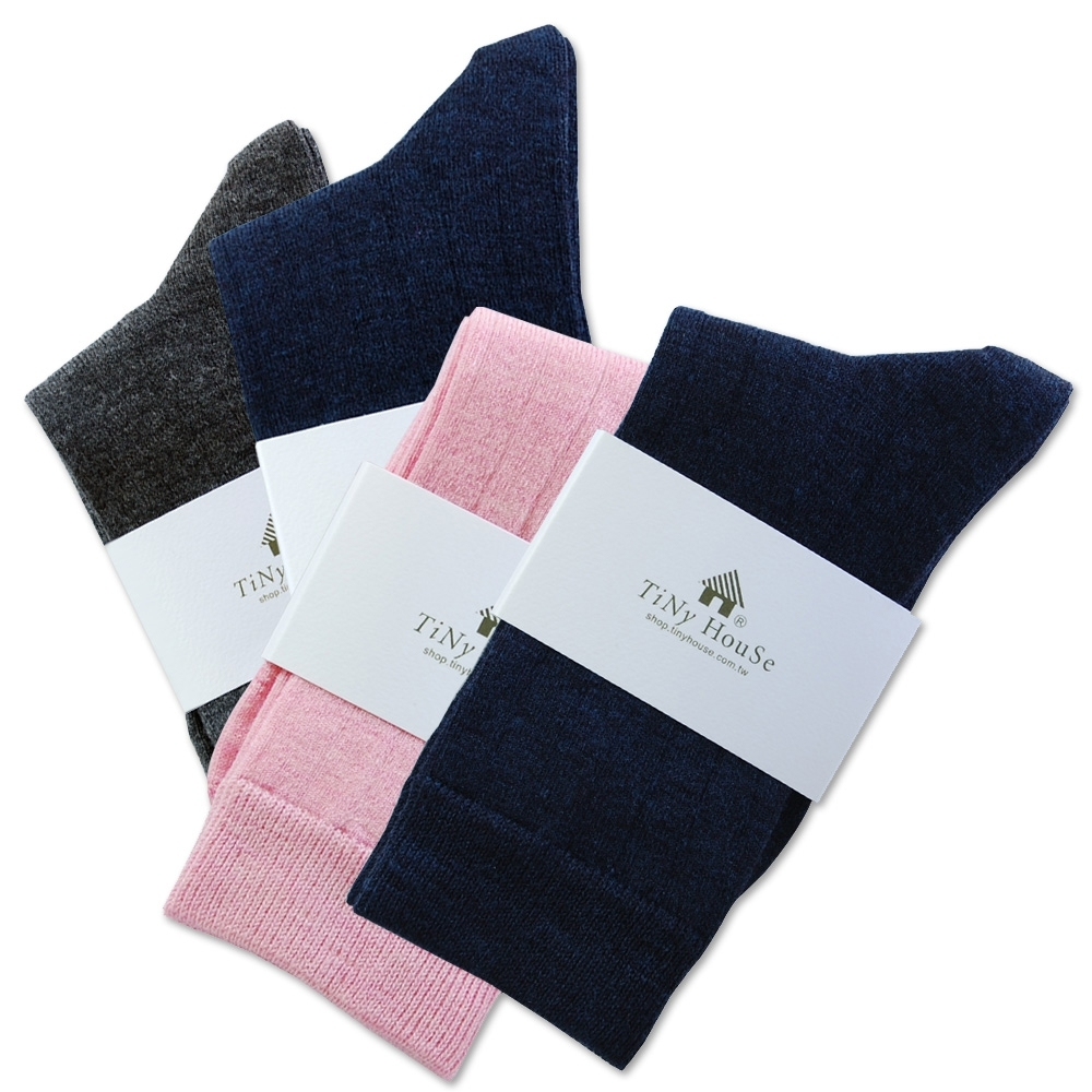 TiNyHouSe T-610/601超細輕薄保暖襪羊毛襪-中筒輕薄款(2雙組)