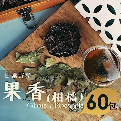 日常野草 芬芳清甜 果香青草茶(5gX60包)(10包/盒,共6盒)