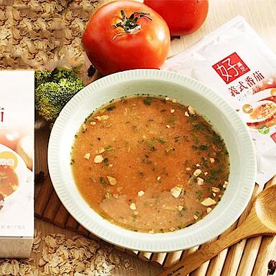好滿足 好滿足 輕快燕麥餐-義式番茄2盒組(30g*7包/盒)