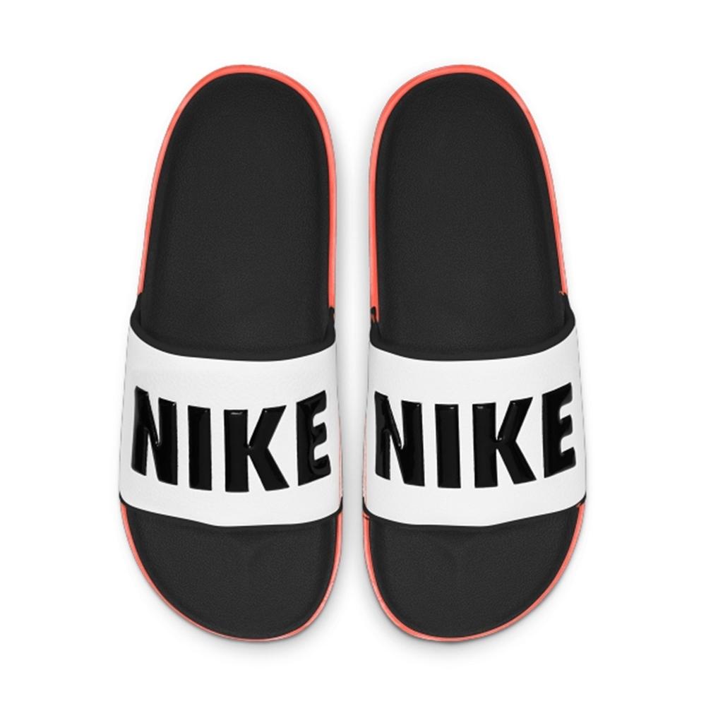 NIKE 拖鞋 運動 休閒 游泳 男鞋 白黑 BQ4639-101 OFFCOURT SLIDE