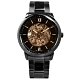 FOSSIL / Neutra 機械錶 自動上鍊 鏤空 羅馬刻度 不鏽鋼手錶-古銅金x鍍黑/44mm product thumbnail 1