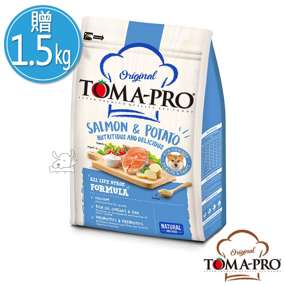 TOMA PRO 優格 敏感膚質 鮭魚馬鈴薯 成幼犬 飼料 7公斤