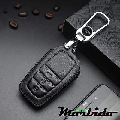 Morbido蒙彼多 TOYOTA豐田Altis/Rav4手縫真皮汽車鑰匙套 3鍵