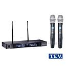 台灣電音TEV TR-7100數位UHF真分集接收100頻道無線麥克風