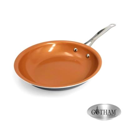 美國GOTHAM 鈦金陶瓷不沾小煎鍋24cm