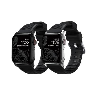 美國NOMAD Apple Watch專用高性能橡膠質感錶帶-38/40mm