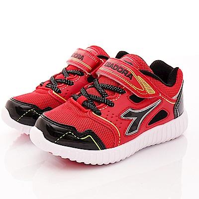 DIADORA 電光炫燈運動鞋款 TH982紅(中小童段)