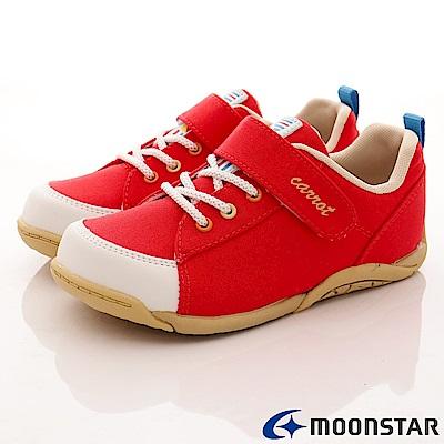 日本Carrot機能童鞋 新創帆布穩定款-21722紅(中小童段)