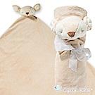 美國 Angel Dear 大頭動物嬰兒毛毯禮盒版 (小鹿)