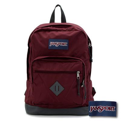 JanSport - CITY SCOUT 系列後背包 -聖誕紅