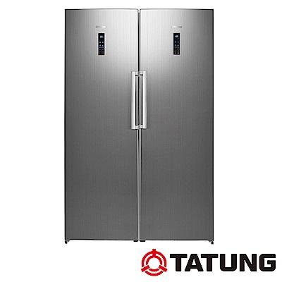 TATUNG大同 650L 自由配冷藏冷凍電冰箱 TR-380HRLW+TR-270HFR