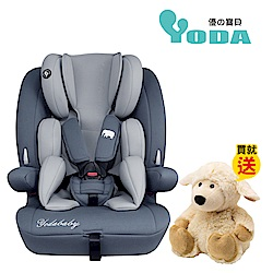 YoDa 成長型兒童安全座椅-尊爵灰