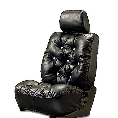 【葵花】量身訂做-汽車椅套-日式合成皮-舒適配色-A款-露營車款-1+2排
