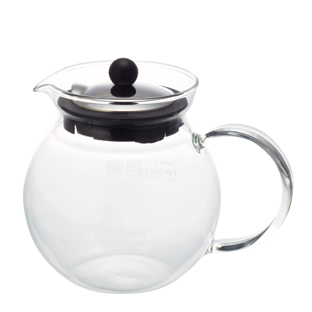 日本iwaki 耐熱玻璃茶壺 640ml
