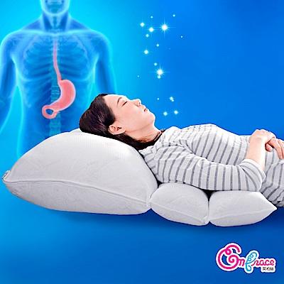 Embrace英柏絲 樂胃 多功能 背部 墊高枕 天絲 抗菌 火燒心 溢赤酸 MIT台灣製 獨家專利