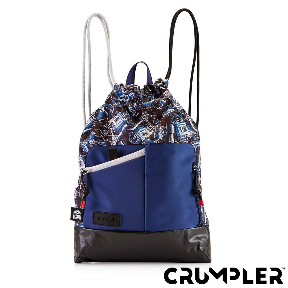 Crumpler 小野人 SIRIUS天狼星 束口後背包 星際大戰/藍
