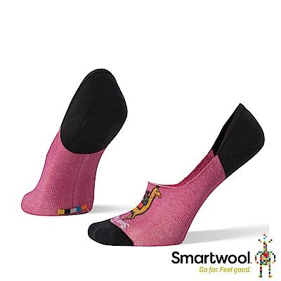 SmartWool 女 Print系列 隱形襪 粉霧紫