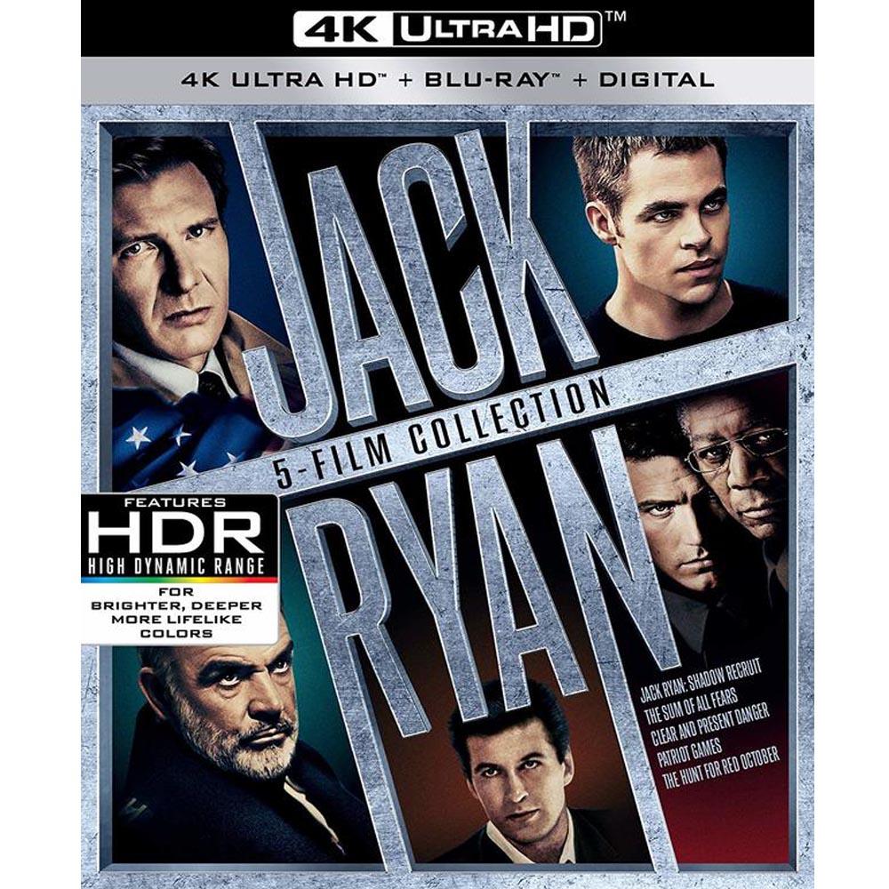 傑克萊恩系列電影 4K UHD+BD 10碟套裝限定版