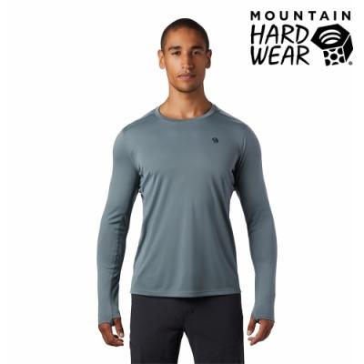 【美國 Mountain Hardwear】Wicked Tech Long Sleeve T-Shirt 防曬快乾長袖排汗衣 男款 淺風暴灰 #1891111