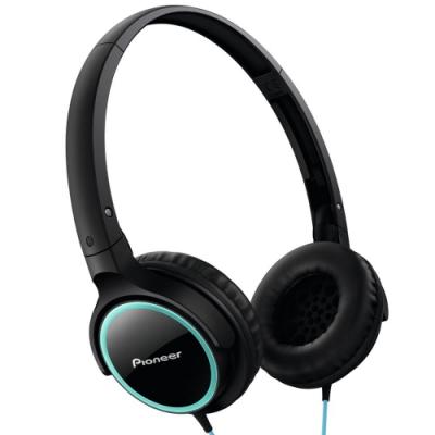 【Pioneer 先鋒】輕巧薄型時尚迷你耳罩式耳機(SE-MJ512)