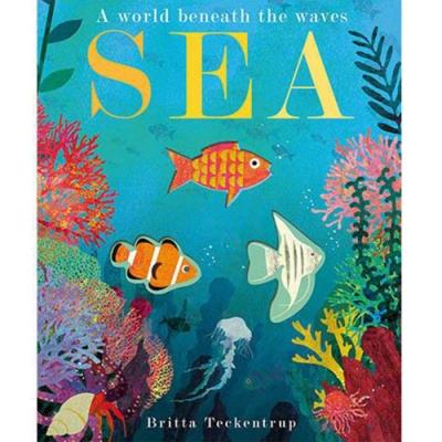 Sea:A World Beneath The Waves 神祕的海底世界疊層洞洞書
