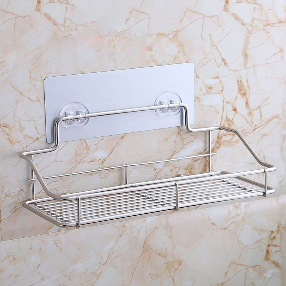 EZlife廚衛無痕不銹鋼置物架(寬25CM)