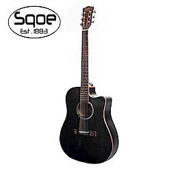 SQOE S360 FG 桃花心木面單民謠木吉他
