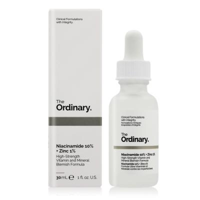The Ordinary Niacinamide 10% + Zinc 1% 維生素B3(菸鹼醯胺) 10% + 鋅 1%(30ml)