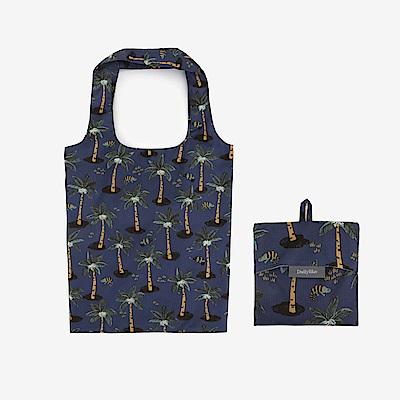 Dailylike 摺疊購物袋單肩包L-08熱帶叢林
