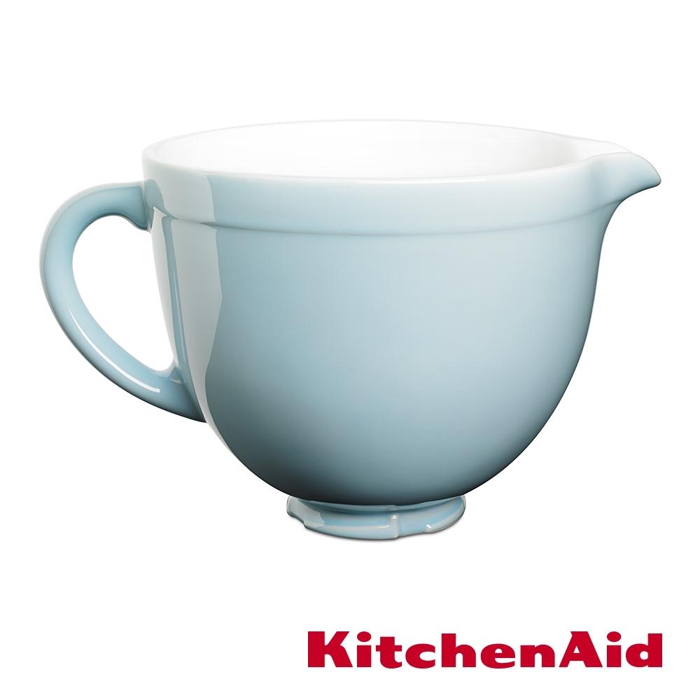 KitchenAid 5Q陶瓷攪拌盆: 粉藍