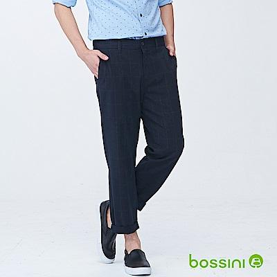 bossini男裝-潮流及踝褲01海軍藍