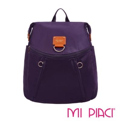 MI PIACI-BELLA系列絢麗後背包-紫色1681617