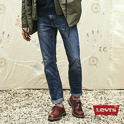 Levis 男款 511低腰修身窄管牛仔長褲 赤耳 硬挺厚磅 微彈性