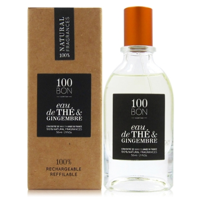 100BON CONCENTRE EAU DE THE EDP 茉莉茶香&生薑香精50ml