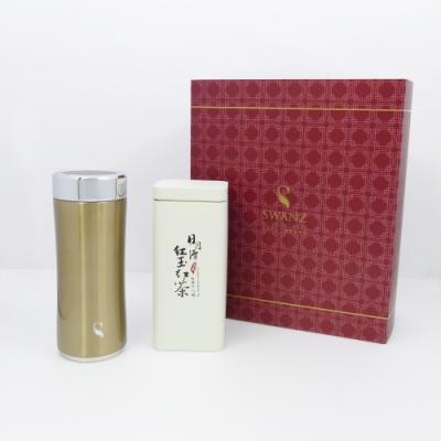 SWANZ 晶粹陶瓷保溫杯禮盒組 - 360ml(2色)