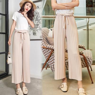 【韓國K.W.】女神同款時尚首選闊腿褲-4色