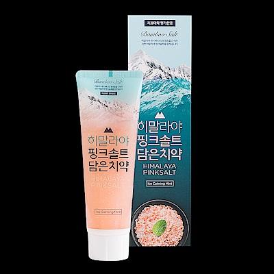 LG喜馬拉雅粉晶鹽牙膏100g-冰澈薄荷