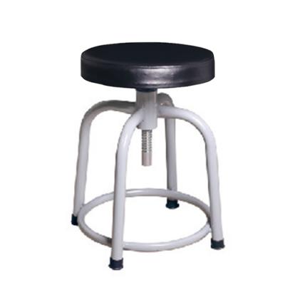 H&D 瑞士308螺旋升降黑厚灰腳椅