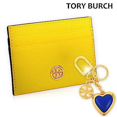 [時時樂]TORY BURCH防刮皮革卡片夾-任選